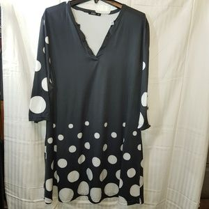 LILY by FIRMIANA BLOUSE, SIZE 1X, PREOWNED